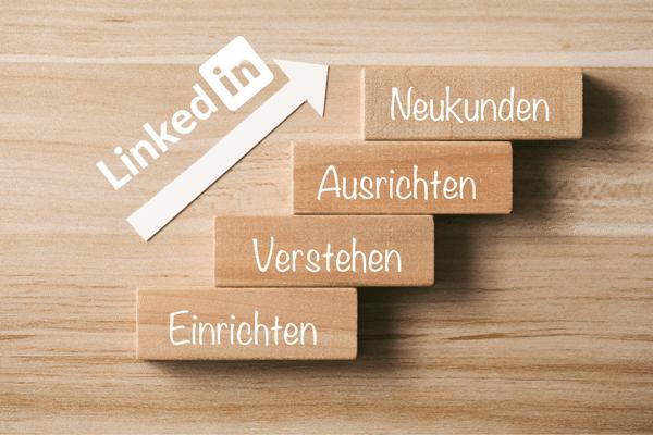 Warteliste LinkedIn Minikurs Treppe